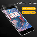 1pcs/lot anti-explosion HD Clear Soft material Screen Protector for oneplus 3/3T Full Cover tpu Soft Protective Film Protecteor