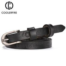 Hot 2017 Brand Fashion Designer Belt For Women Genuine Leather Thin Belt Accessory Fashion High Quality Strap WH010