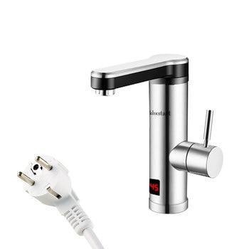 Instant Tankless Electric Water Heater for Kitchen Bathroom Heating Tap Water Faucet Fast with LED 220V Elektrischer Wasserkoche bernd ponick grundlagen elektrischer maschinen