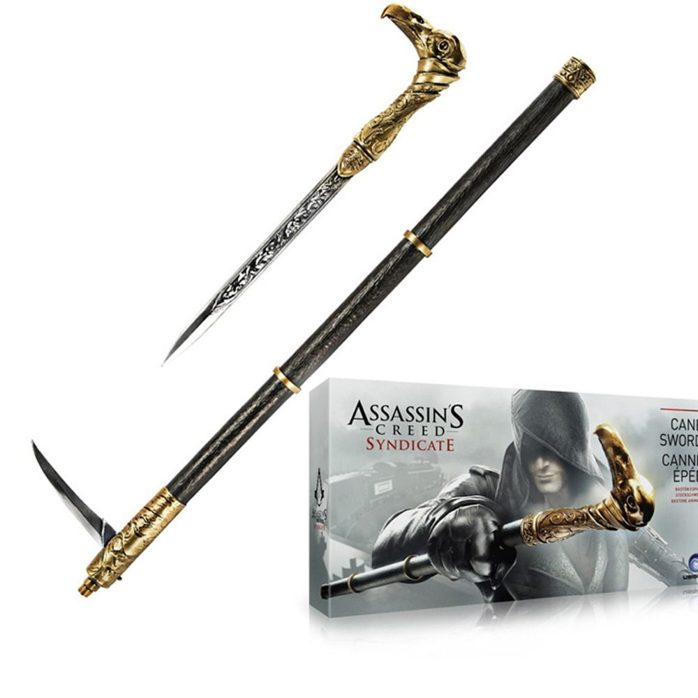 Assassin's Creed Syndicate Cane Sword Cosplay Prop Replica New in Box Free Shipping литой диск replica legeartis concept ns512 6 5x16 5x114 3 et40 d66 1 bkf