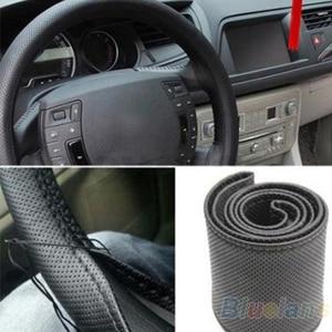 New Leather DIY Car Steering W