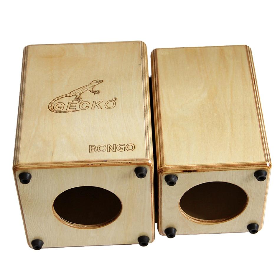 GECKO Бонг-2 CS087 Cajon сіямскія Box Барабаны / - Музычныя інструменты - Фота 4