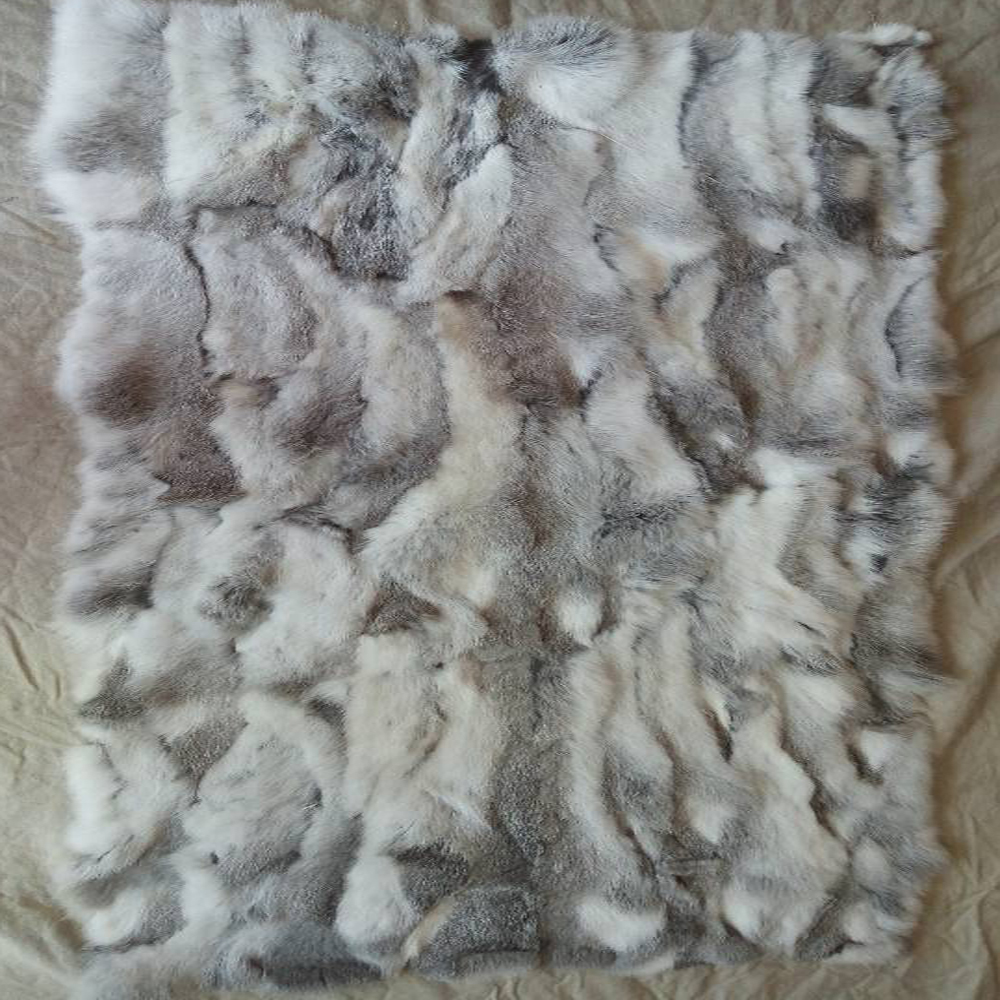 2019 Fashion Patchwork Section Rabbit Fur Plate Rabbit Skin Rug Belly Fur Plate Blanket Blankets Factory Sale Good Quality New Music Memorabilia