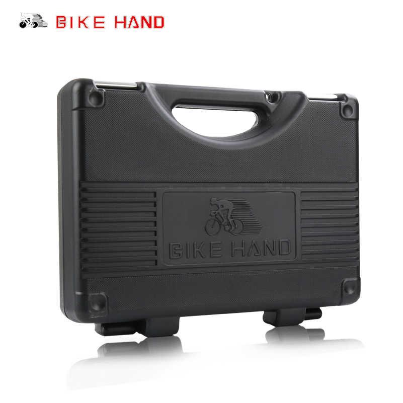 Набор коробок набор мульти MTB цепи на шины Инструменты для ремонта спицевой ключ набор Шестигранная Отвертка велосипедные инструменты ручные 18 в 1 Инструменты для ремонта велосипеда
