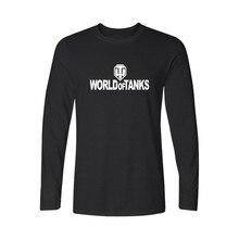 World Of Tanks 2017 New Summer T Shirt Mens Plus Size O-Neck Casual Tshirt  Fashion Brand Streetwear Hip Hop Long Sleeve Tees