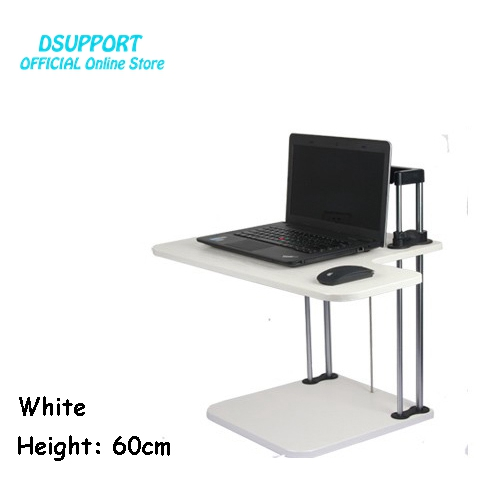 Sit/Stand Desk Riser Height Adjustable Lightweight Standing Laptop Desk Notebook/Tablet/Monitor Holder Stand With Keybaord tray height adjustable sit stand desk with heavy duty steel frame office furniture computer laptop table standing desk notebook stand