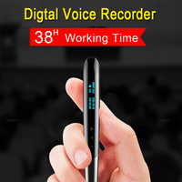 Professional LCD Display Digital Activated Recorder Writing Pen Audio Sound Voice Recording Write Pen HD HIFI MP3 Player 8GB