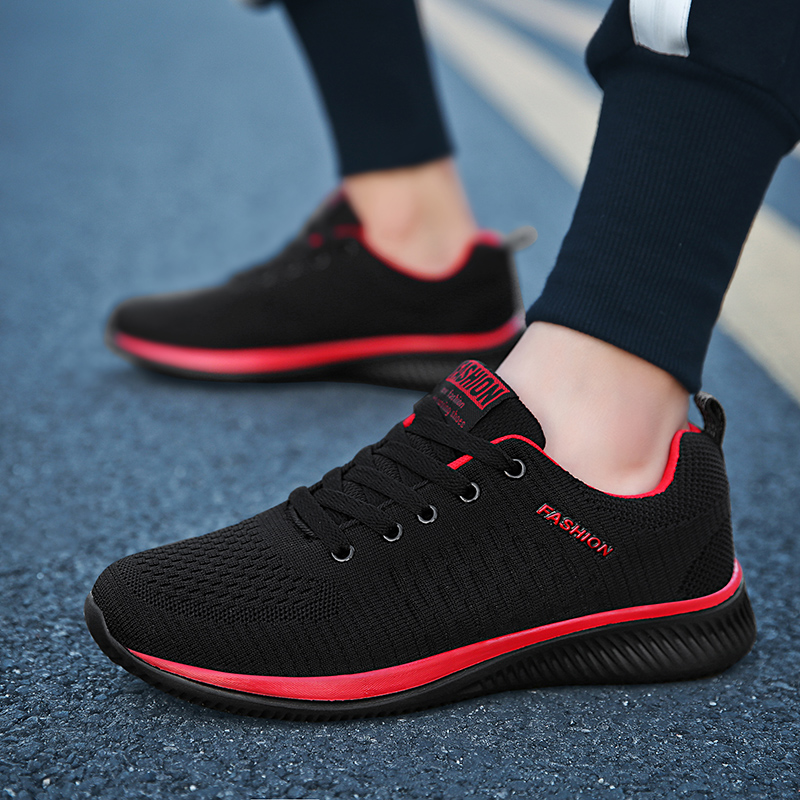 481cf334 LSYSAG Men Running Shoes Sneakers Outdoor Walking Shoes Lace-up Athletic  Breathable