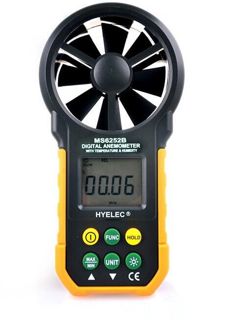 Multifunction Digital Anemometer / Air Volume / Temperature / Humidity Wind Speed Meter Air Flow Meter  цены
