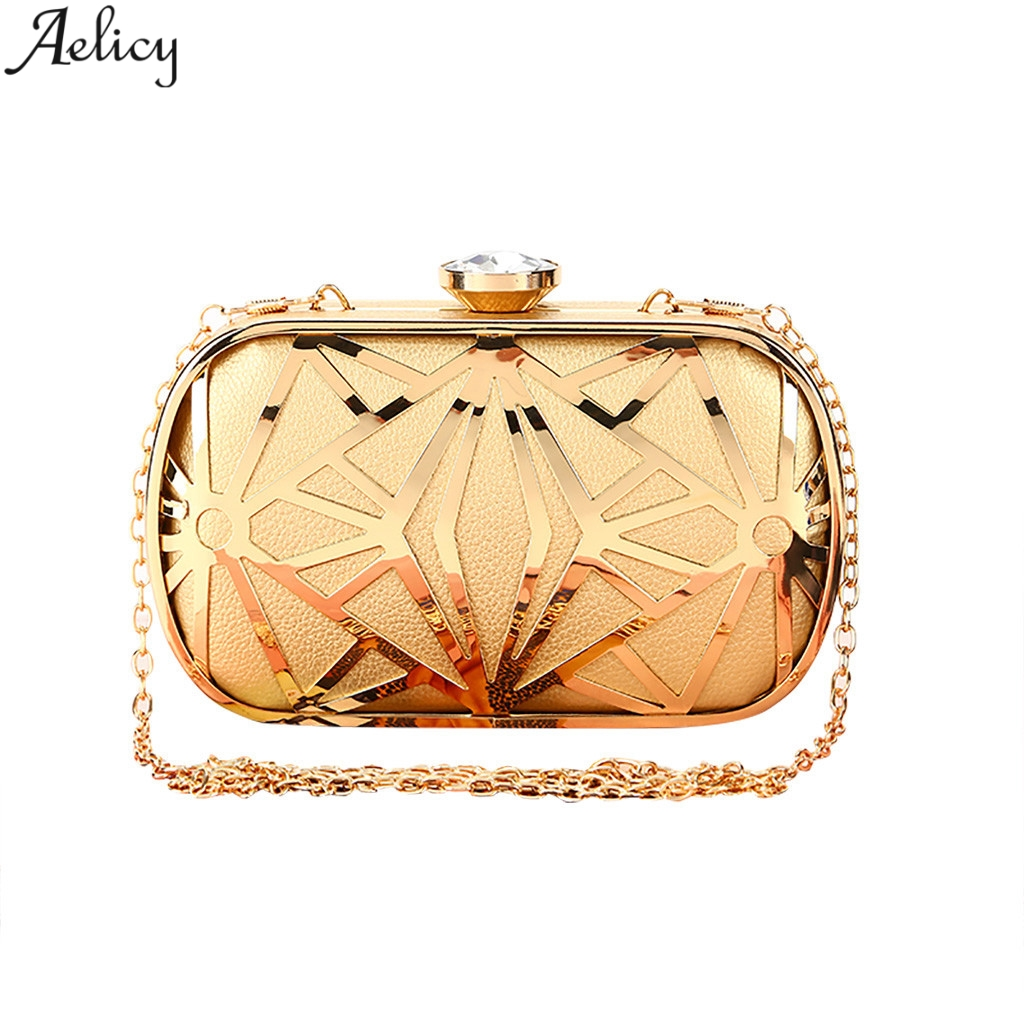 Aelicy Handmade Clutch-Bag Evening-Party-Bag Bolso-De-Dama Rhinestone Minaudiere Banquet
