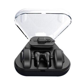 BL02 inalámbrico Bluetooth 4,2 Mini doble oído estéreo HIFI auricular DSP Cancelación de ruido auriculares 300 mAh caja de carga auricular