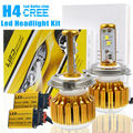 TAITIAN 180W 18000Lms 6500K LED Headlight Kit Hi-Low Beam Car Light Bulbs H4 9003