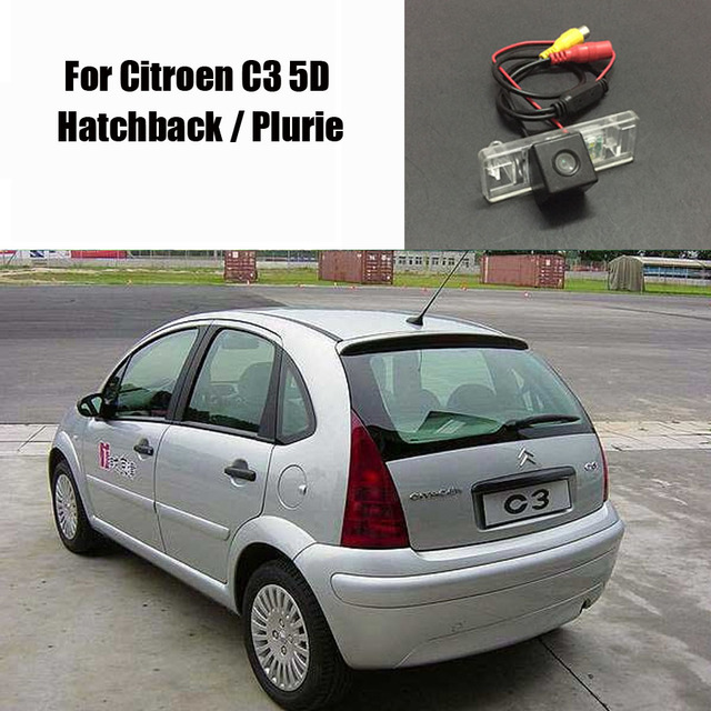 32b639df0 Thehotcakes cámara de Vista trasera de coche para Citroen C3 5D  Hatchback/Plurie/cámara