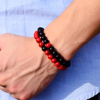 Bracelet style perlé yoga 1