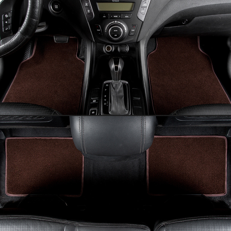 kalaisike universal car floor mats for Nissan All Models Note Murano March Teana qashqai x-trail tiida car styling accessories