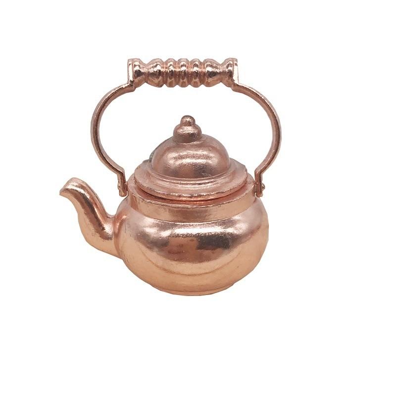 Wooden Tea Set avec Bouilloire pour jouer les cuisines NEUF