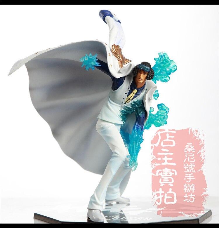 все цены на 2014 Hot Japanese Anime One Piece Fighting Marine Admiral Kohza AO KIJI BANDAI Soul Tamashii banpresto Figuarts Free Shipping