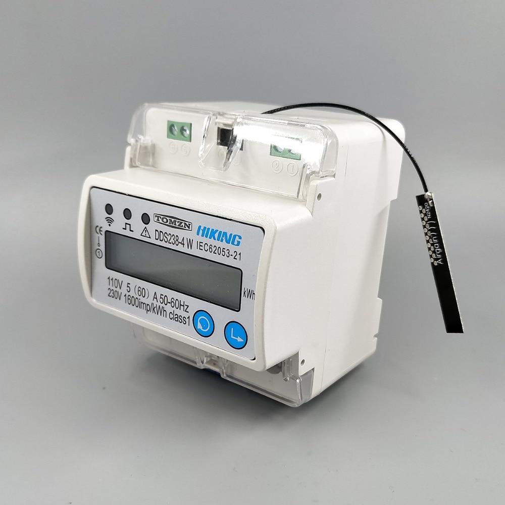 A DDS238-4-R Stromz/ähler 3-phasig f/ür DIN-Schienen 100 60 Hz 110 V 220 V 10