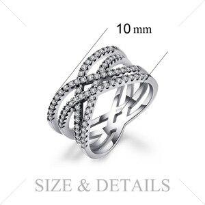 Image 5 - Jewelrypalace Bạc 925 Đan Xen Vào Nhau Tuyên Bố Vòng Như Beatiuful Trang Sức Mới Bán Cho Nữ Quà Tặng Tốt Nhất