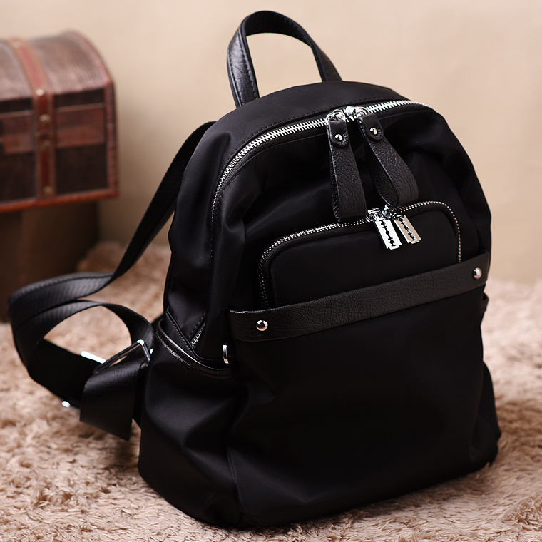 New Travel Backpack Korean Women Female Rucksack Leisure Student School Bag Soft Canvas Women Bag new korean female bag canvas backpack personality badge backpack leisure student schoolbag