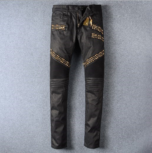 New Brand American Style Black Skinny Jeans Hot Fashion Jeans Men Biker Jeans