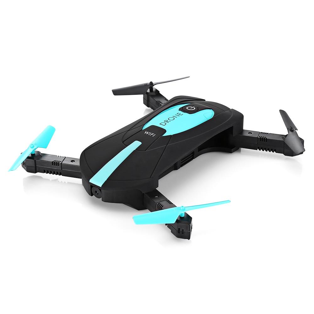 2017 Nuovo ELFIE WiFi FPV Quadcopter Mini Pieghevole Selfie Drone RC tasca Droni WiFi FPV 720 P Fotocamera G-Sensor Modalità Drone Dron Giocattolo