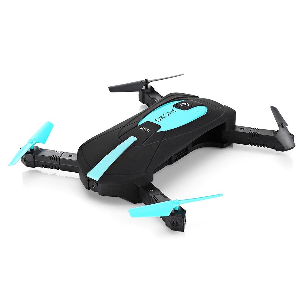 Nueva ELFIE WiFi FPV Quadcopter Mini plegable Selfie Drone RC Drones bolsillo WiFi FPV 720 p Cámara g-sensor modo Drone Dron Toy regalo