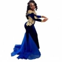 Sereia Vestidos de Baile Branco 2019 Spaghetti