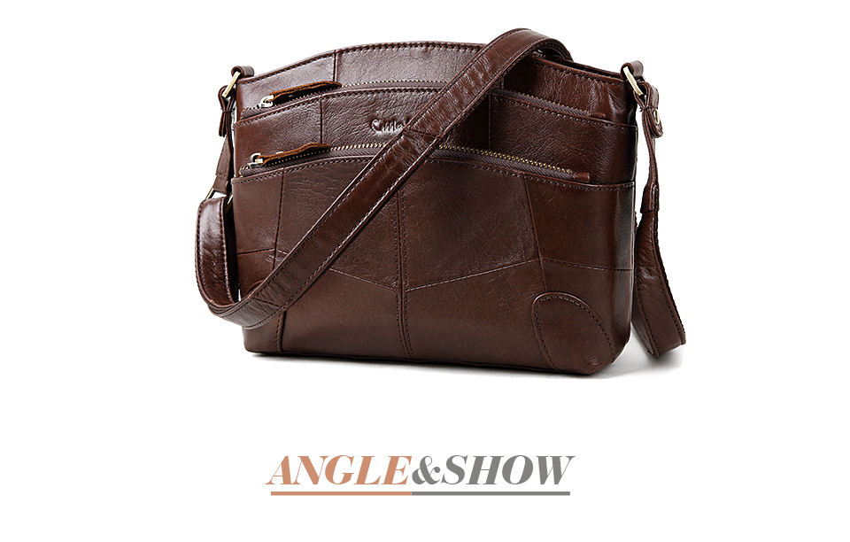 Cobbler legend designer de couro genuíno saco