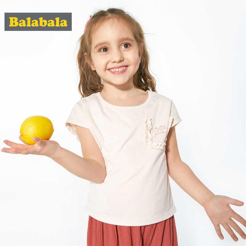 Balabala 子供服ガールズ tシャツ半袖 2019 新夏ドレス fahsion 子ベビー子供 tシャツ綿のための