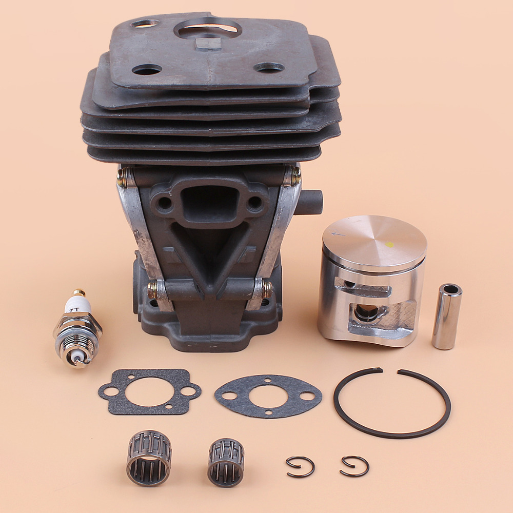 44mm Cylinder Piston Bearing Gasket Kit For HUSQVARNA 445 445e 450 Gas Chainsaw Parts 544119802, 544 11 98 02