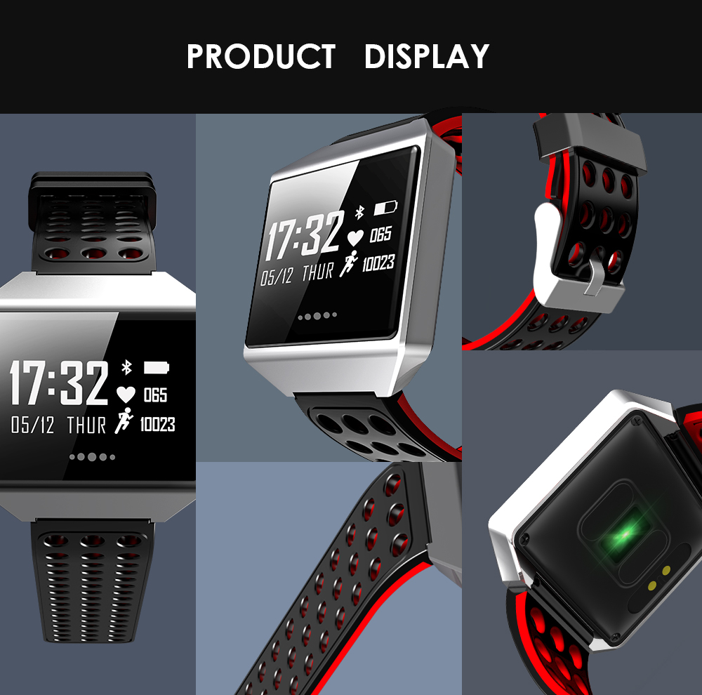 MOCRUX CK12 Smartwatch IP67 Waterproof Wearable Device Bluetooth Pedometer Heart Rate Monitor Smart Watch For AndroidIOS (14)