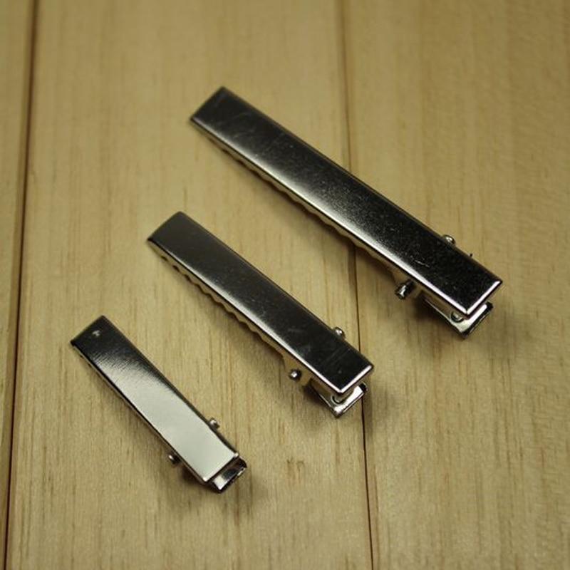 Лидер продаж 20 шт./лот Для женщин утка рот 32 мм Заколки для волос заколки для DIY аксессуары для волос