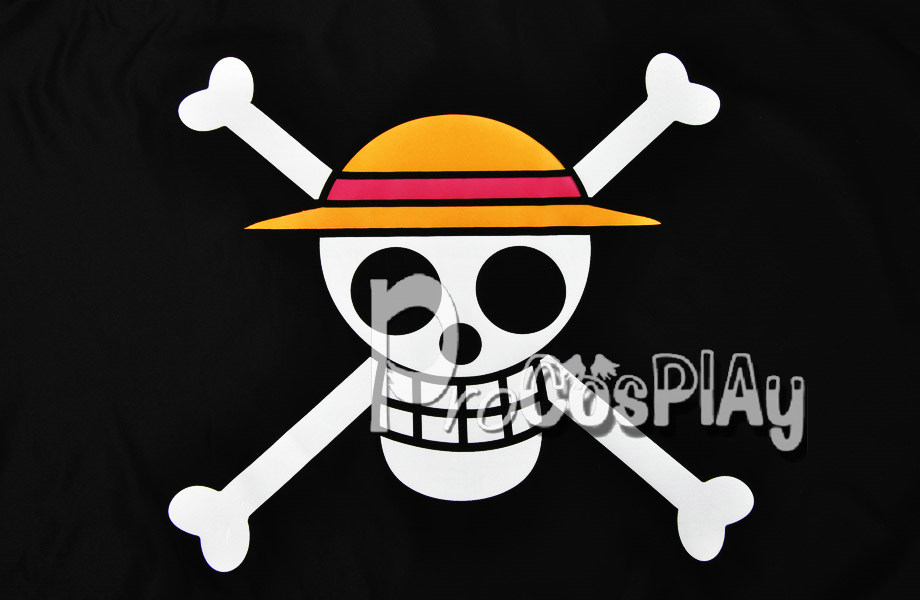 Us 5 99 One Piece Monkey D Luffy Straw Hat Pirates Cosplay Flag Mp001997 In Costume Props From Novelty Special Use On Aliexpress