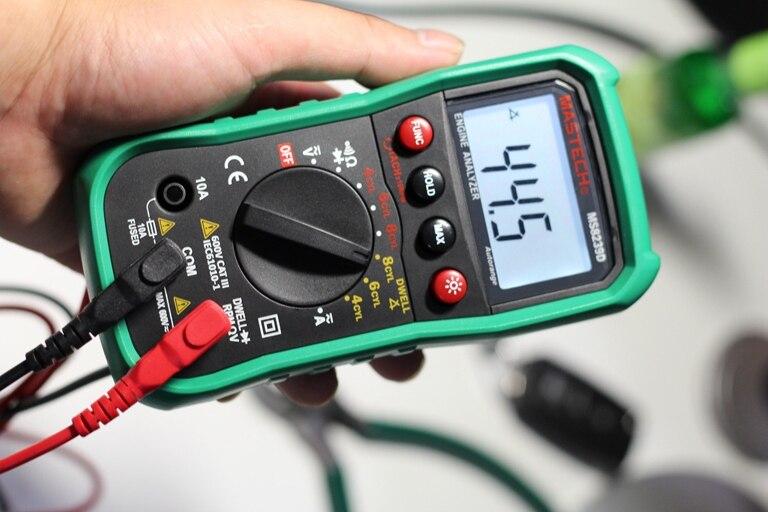 Automotive Digital Multimeter : Mastech ms d automotive digital multimeter voltage current