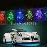 7 Color Undercar Lights Under Car Neon Light Kit Undercar Underglow Kit Neon Strip Light 36