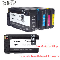 5 High Yield Ink For HP 950XL 951XL HP OfficeJet Pro 8600 Pro8100 Series