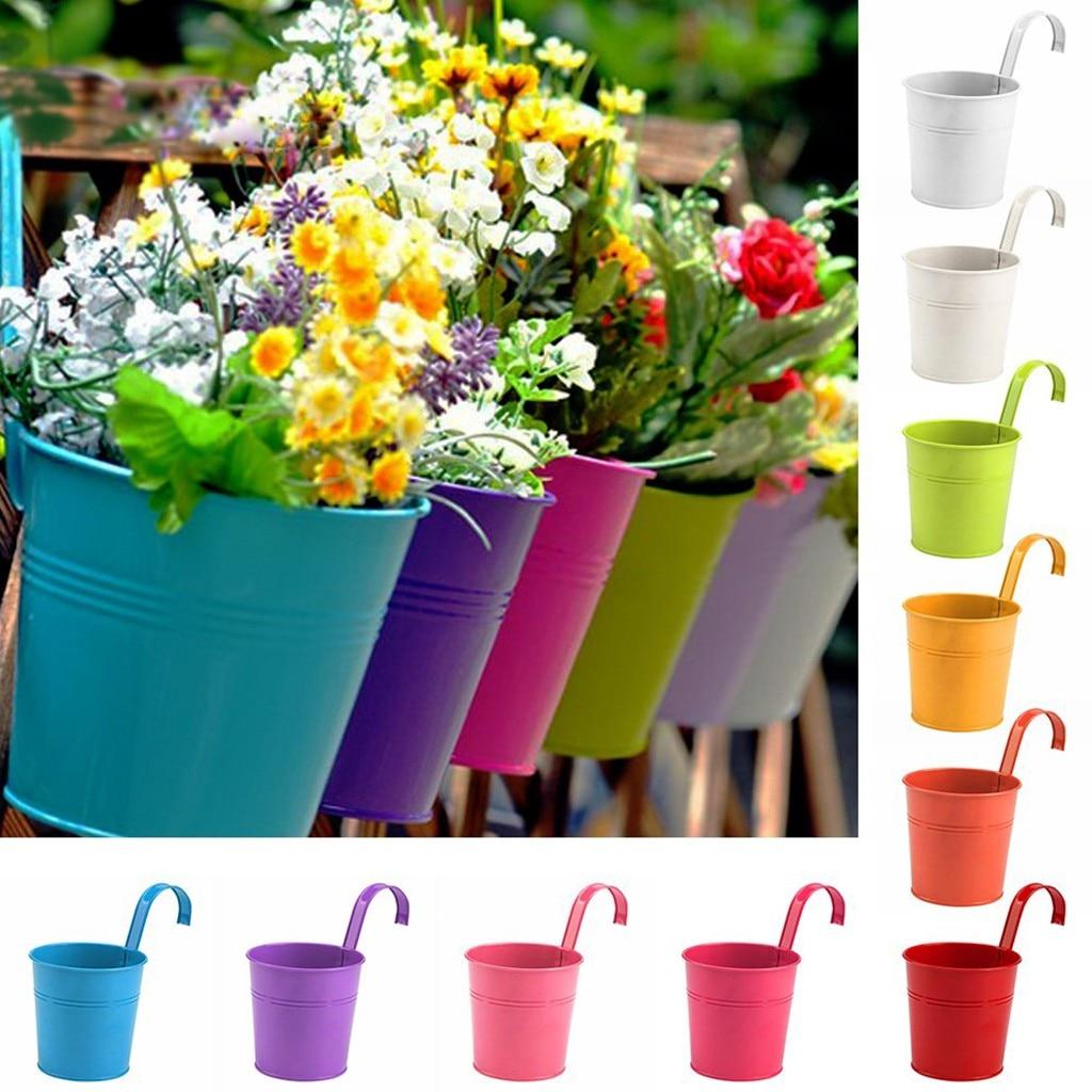 Mini Square Plastic Plant Flower Pot