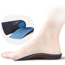 Half arch support orthopedic insoles for flat foot correct 3/4 length insole feet care health orthotics insert shoes FM0254