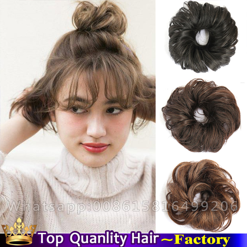 Image result for hair bun scrunchie