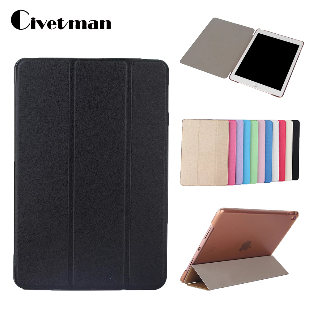 For iPad Pro 9.7 Case,For iPad Air3 Cover,PU Leather+Translucent PC Back Shell Smart Coque Auto Sleep/Wake for iPad Pro Case for apple ipad pro 10 5 case 2017 new pu leather slim smart cover w pencil holder wake sleep function for ipad pro 10 5 case