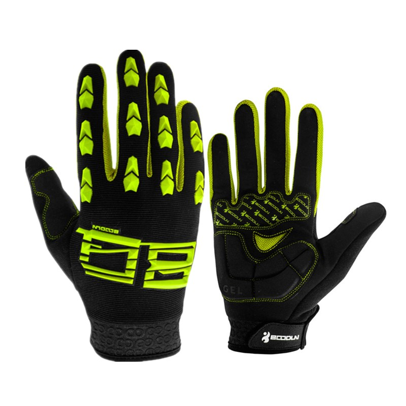 Full Finger Touch Screen Cycling Gloves Road MTB Mountain Shockproof Bike Gloves Bicycle Outdoor Sport Gel Pad Breathable Gloves