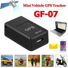 VODOOL GF07 Magnetic Car Truck Tracking Device Mini Vehiclel GSM GPRS Real Time GPS Tracker Voice Contro Car GPS Accessories(China)