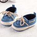 1504-bb20 Canvas Loafers Baby shoes Tennis First Walkers Baby Casual Shoes  Girl's Denim