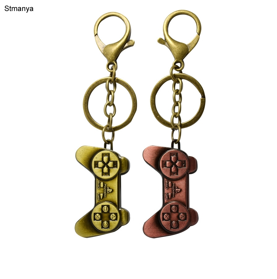 New Men Electronic Game Controller High Quality Car Key Ring Bag Charm Accessories Hot Women Best Party Gift Jewelry K1923
