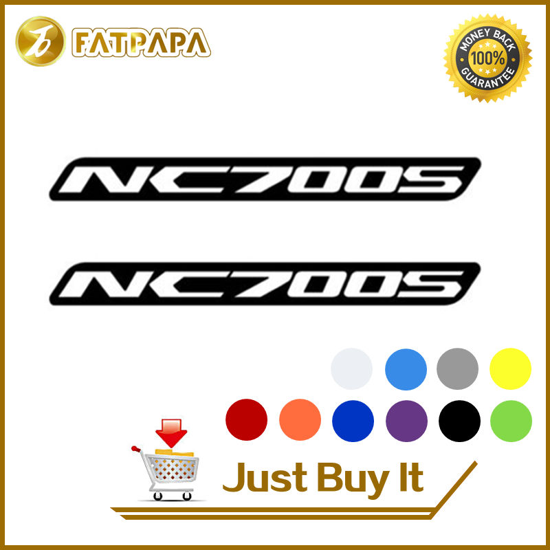 motorcycle bike Fuel tank Wheels Fairing notebook Luggage helmet MOTO Sticker decals For Honda NC 700S NC700S ...
