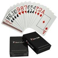 Техасский Холдем Пластик игры Карточная игра покер карты Водонепроницаемый и скучный польский Покер звезда Настольные игры