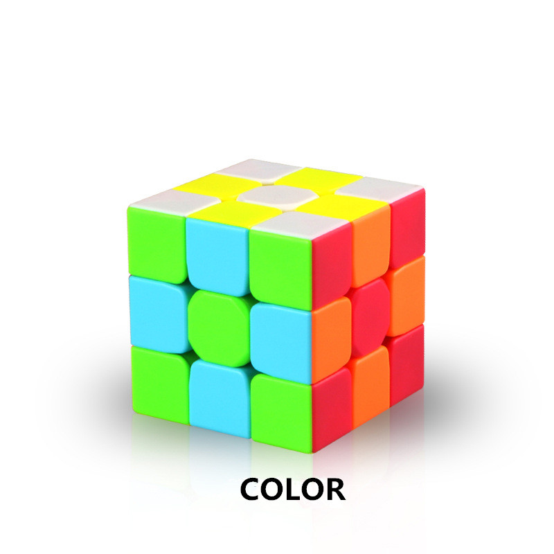 Magic Cubes Qiyi Warrior W 3x3x3 Magic Cube Professional 3x3 Speed Cubes Puzzles 5.6cm Speedcube