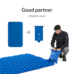 Image 5 - Naturehike Lightweight Moisture proof Air Mattress Nylon TPU Sleeping Pad Inflatable Mattress Camping Mat For 2Person NH19Z055 P