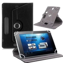 цена на 7 inch flat case crystal pattern universal protective case tablet universal leather case